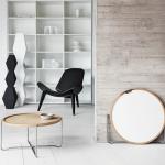 Tisch CH417 mit Sessel CH07, Design: Hans J. Wegner