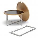 Tisch CH417, einfach zu demontieren, Design: Hans J. Wegner