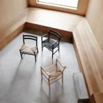 Stuhl CH46 und CH47, Design: Hans J. Wegner