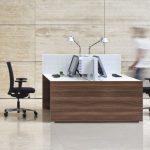 Schreibtisch CONCLUSION, Design von Klaus Michel