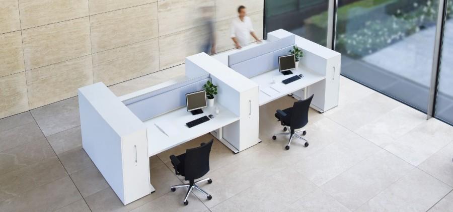 Vario b roeinrichtungen b rom bel in hannover bei kontor for Arbeitstisch design