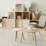 Stuhl und Tisch Butterfly (Design: Niels Gammelgaard)