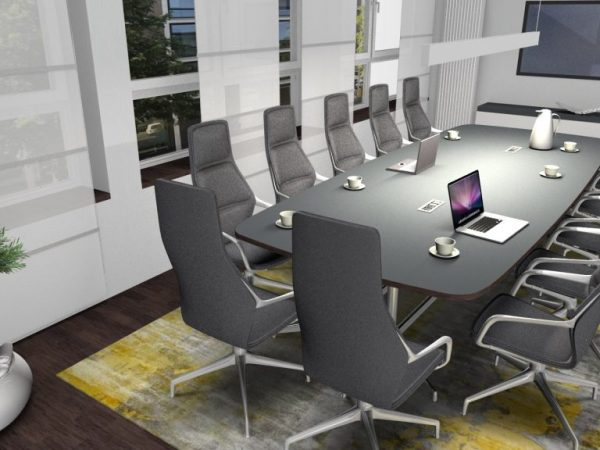 Konferenzraum 1.OG Raum 1.13 mit Konfernzsessel Ray Hochlehner 3D2