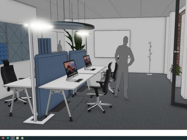Screenshot Arbeitsplatz 3D2