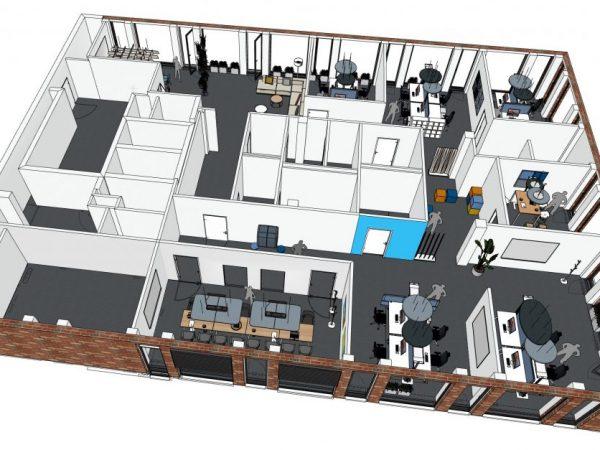 SmapOne Grundriss 3D gesamt mit Ansichten_vermittelt